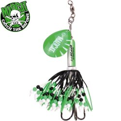 Блесна вращающаяся MADCAT® RATTLIN' TEASER SPINNER / 90g - GREEN